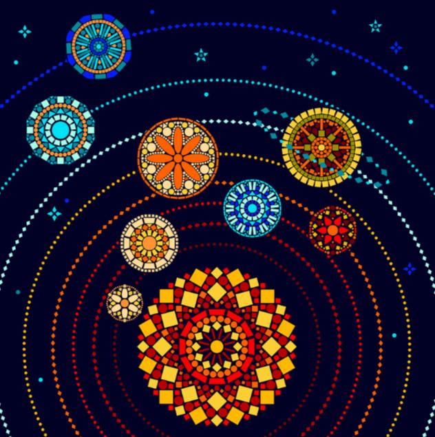 Mandala planétaire 2
